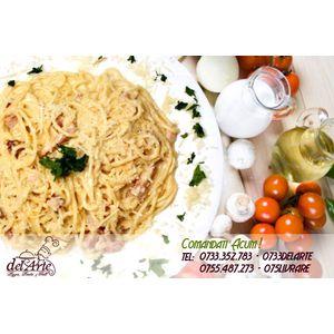 livrare paste spaghetti carbonara