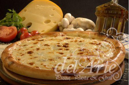 pizza quatro formagi XXL